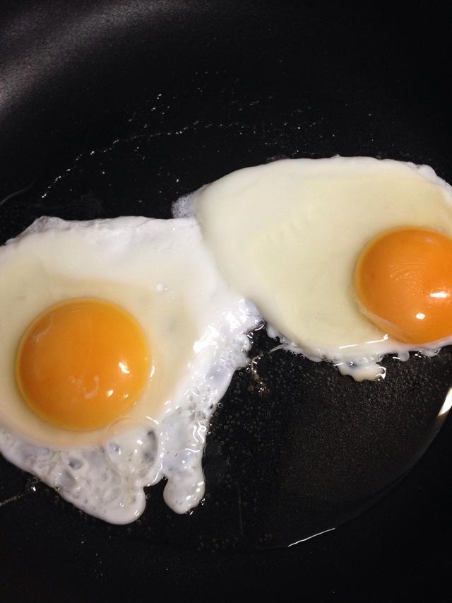 荷包蛋的做法步骤