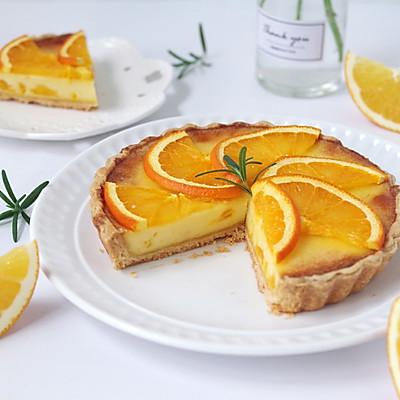 香橙乳酪派