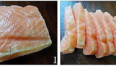 酸梅酱烤三文鱼的做法 酸梅酱烤三文鱼怎么做好吃 酸梅酱烤三文鱼 家常做法大全 豆果美食