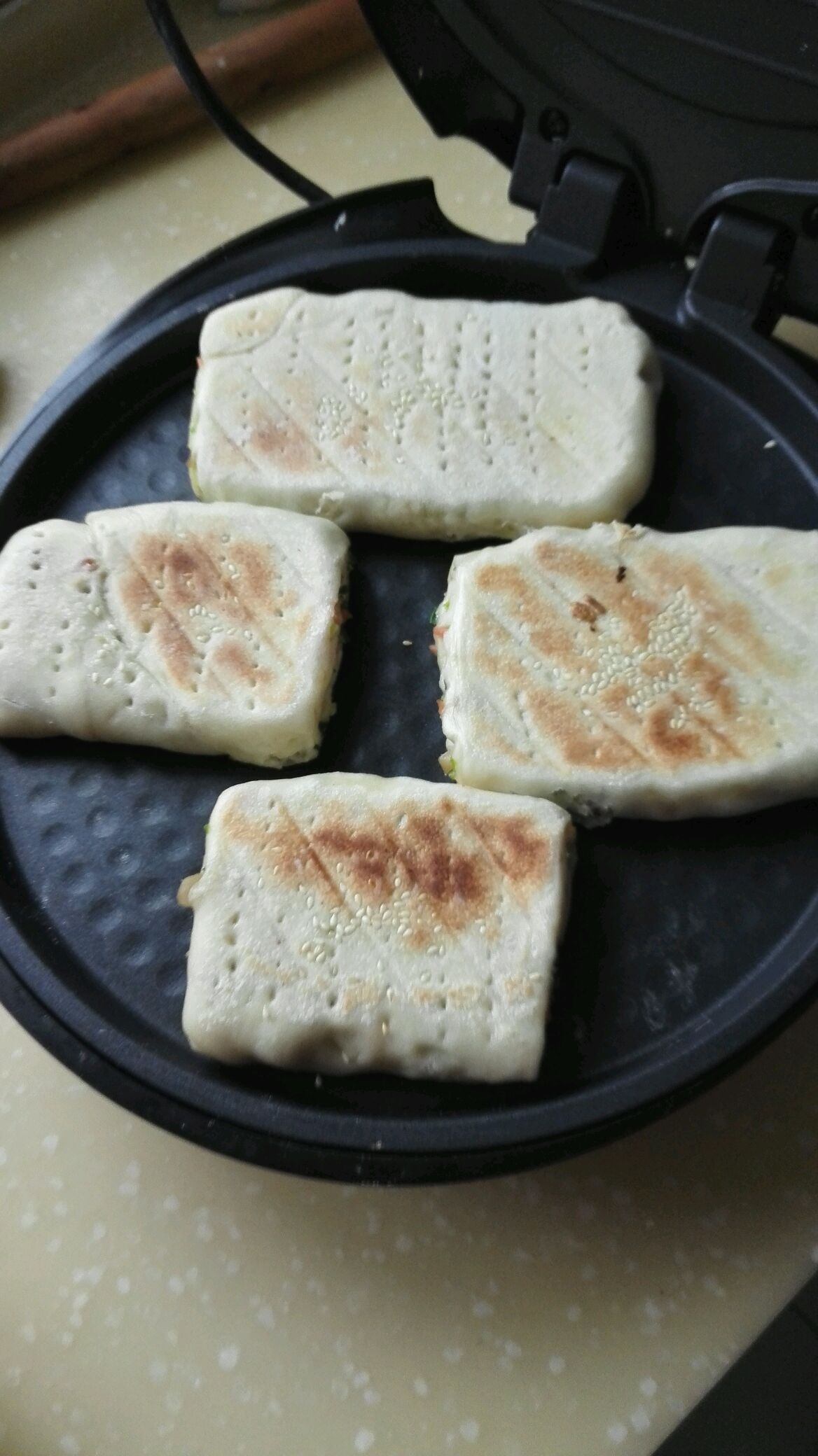 方型烙饼的做法图解9