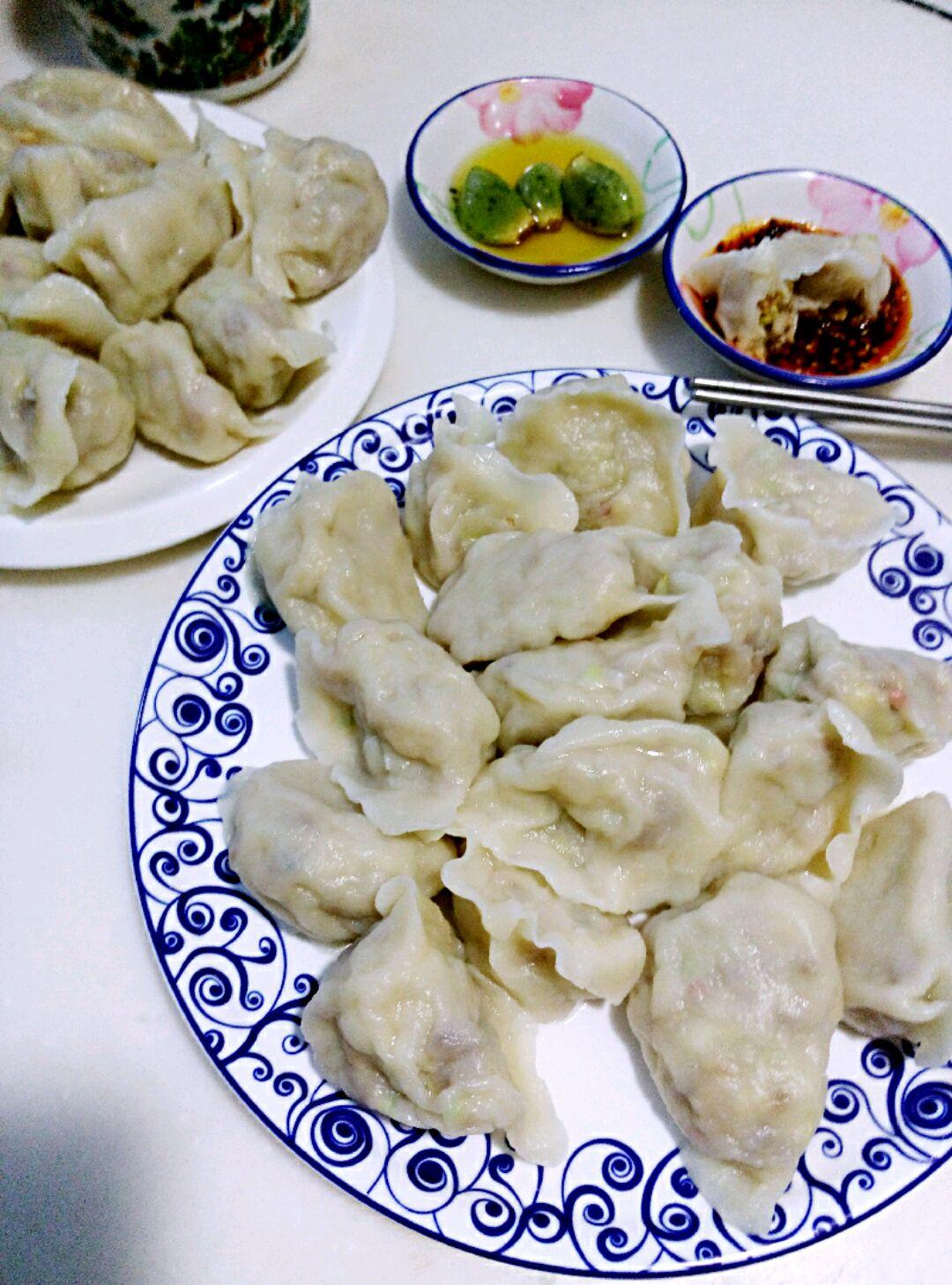 油渣白菜饺子的做法图解12