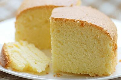 法式全蛋海绵蛋糕