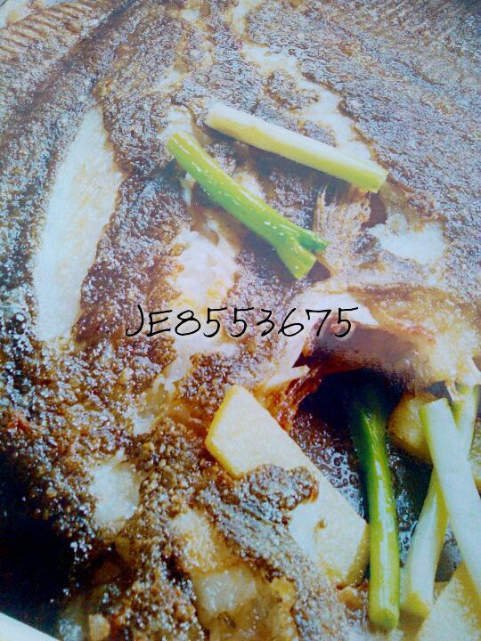 香煎蟹味多宝鱼的做法图解1
