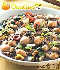 豆豉鲜蚵的做法