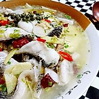 酸萝卜青花椒鱼-蜜桃爱的鱼料理-健身减肥食谱
