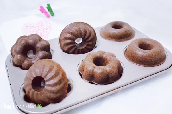 可可甜甜圈#每一道菜都是一台时光机#的做法