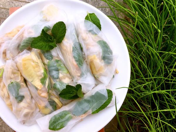 春天里的越南米春卷