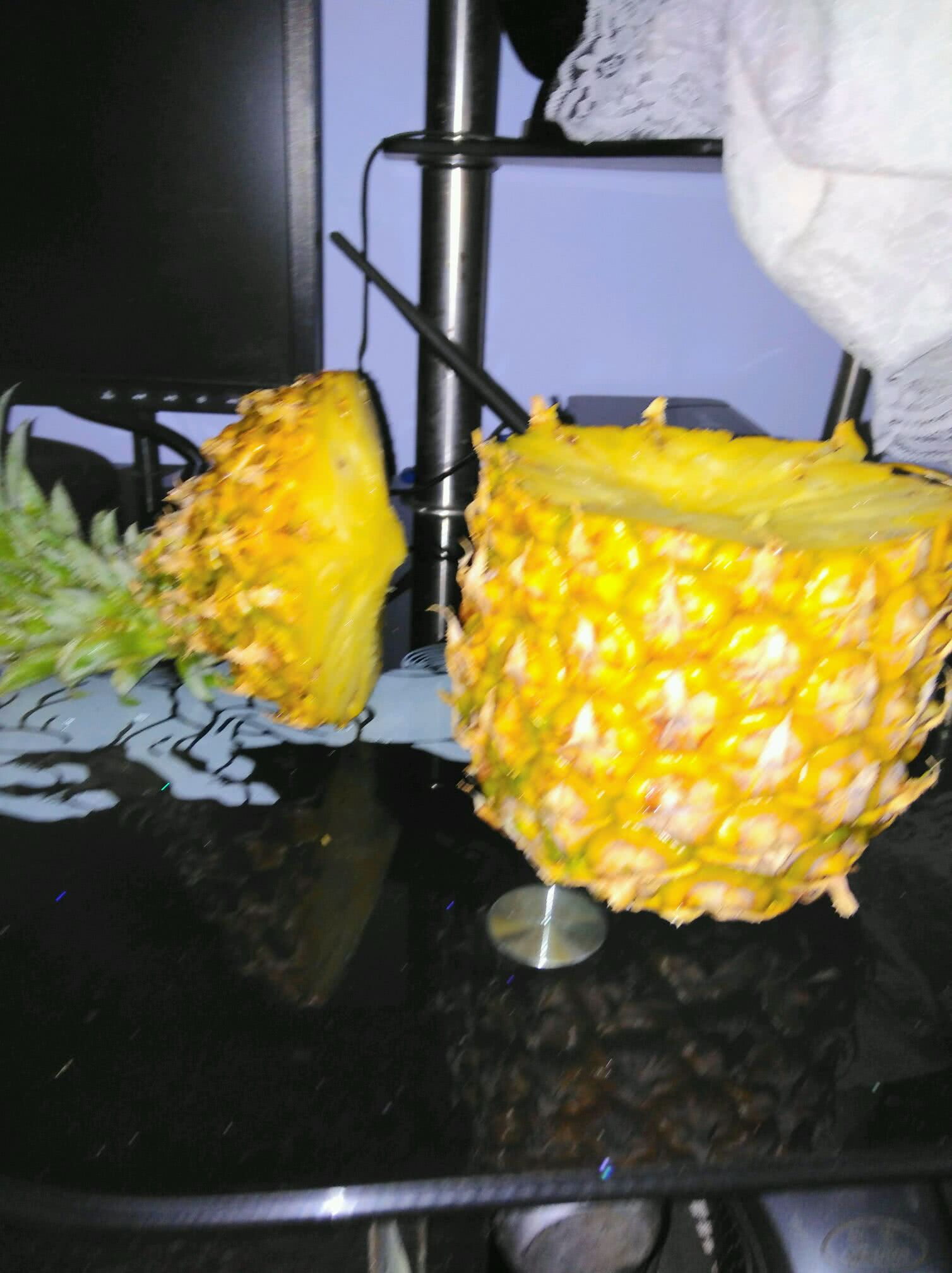 菠萝糯米饭的做法图解2
