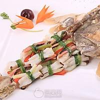 滑炒柴把鳜鱼—《顶级厨师》参赛作品