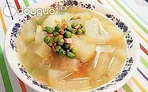 瘦身火腿冬瓜汤的做法