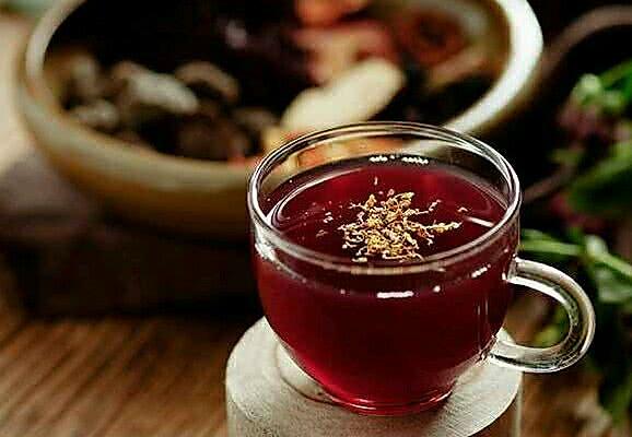 桂花酸梅汤――夏天的秘密的做法