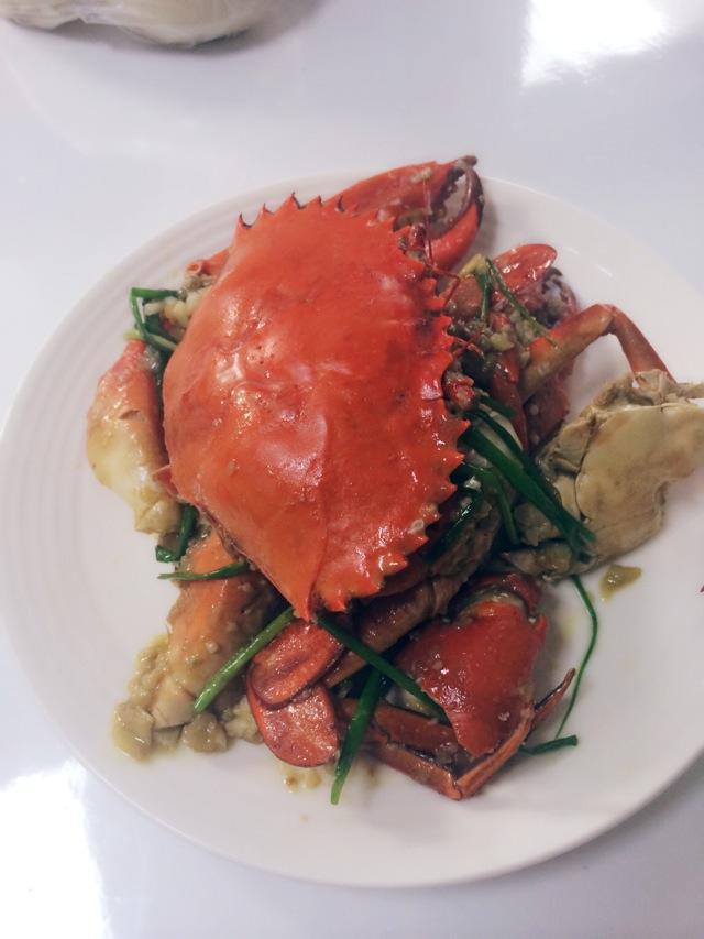 葱姜蒜炒蟹的做法_【图解】葱姜蒜炒蟹怎么做好吃_孙