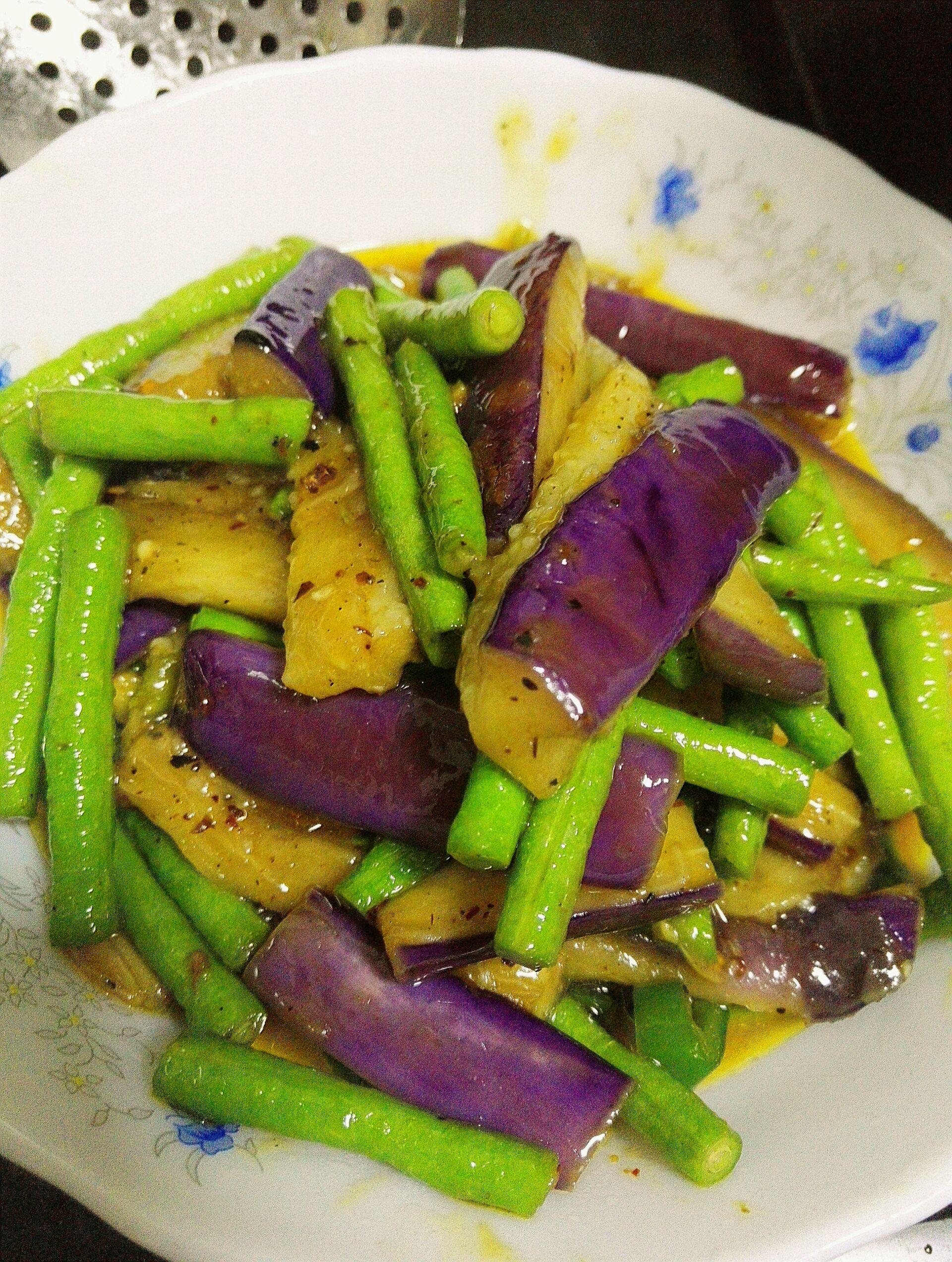 茄子豆角的做法_【图解】茄子豆角怎么做如何做好吃
