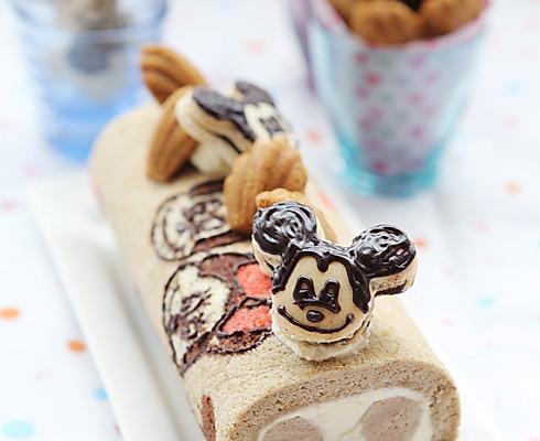 米老鼠咖啡蛋糕卷