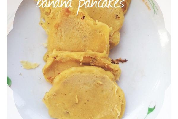 香蕉饼~的做法_【图解】香蕉饼~怎么做如何做好吃