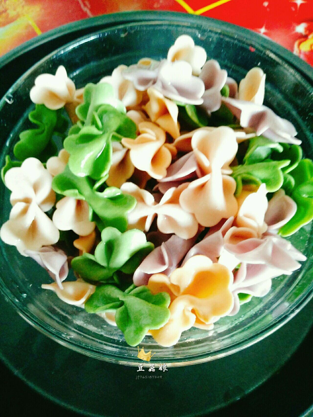 蝴蝶面―宝宝营养辅食的做法图解2