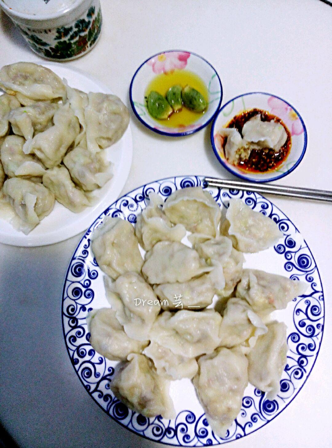 油渣白菜饺子的做法图解13