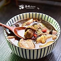 姬松茸茶树菇瘦肉汤