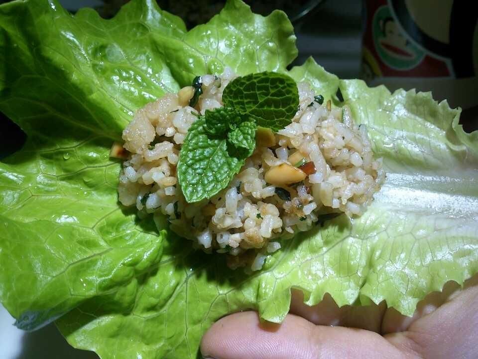 生菜包饭的做法_【图解】生菜包饭怎么做如何做好吃