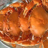简单易学的蒸螃蟹