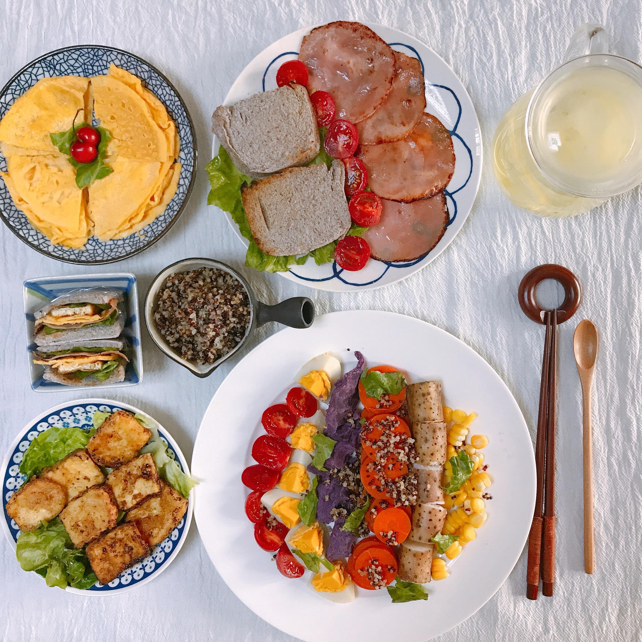 健康绿色早餐的做法_【图解】健康绿色早餐怎么做如何