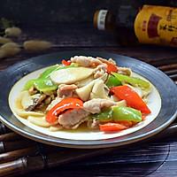 杏鲍菇炒肉片#金龙鱼外婆乡小榨菜籽油 我要上春碗#