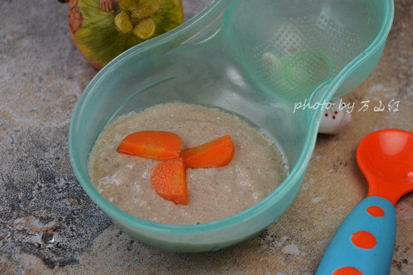 羊肝婴儿米糊#爱的暖胃季--美的智能破壁料理机#的做法