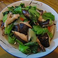 清炒香菇盖菜
