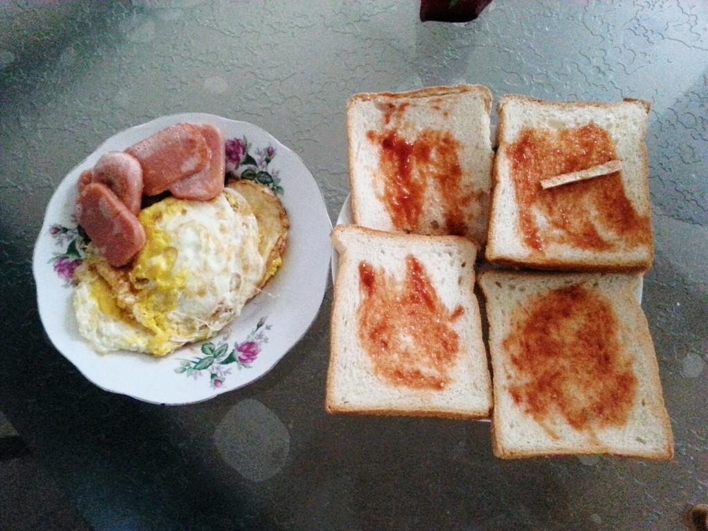 简易家庭营养早餐的做法 !