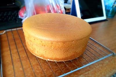 初学者的8寸戚风蛋糕