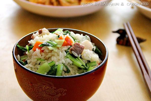 咸肉菜饭#金龙鱼外婆乡小榨菜籽油 最强家乡菜#的做法