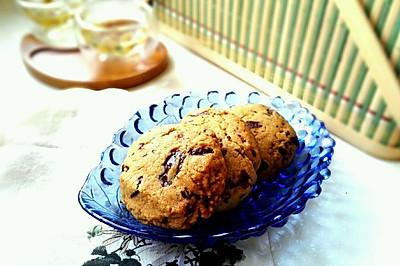 美式巧克力曲奇 chocolate chip cookies