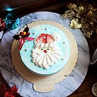 圣诞老人蛋糕#柏翠辅食节-烘焙零食#