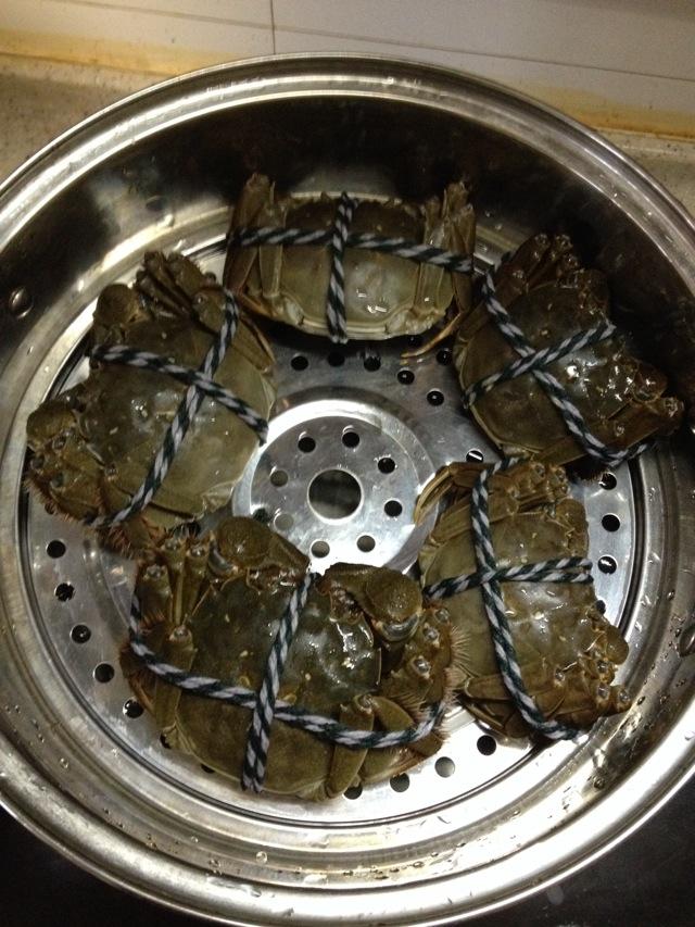 清蒸大闸蟹的做法步骤