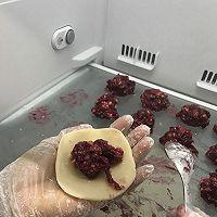 玫瑰鲜花饼(长边擀卷法)的做法图解8