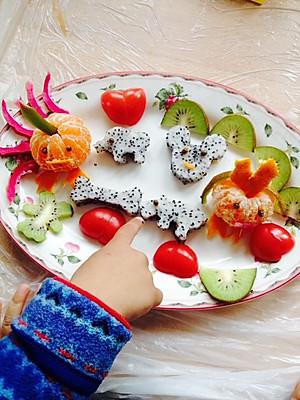 蛋的家居美食的水果拼盘的做法的评论 怎么样 豆果美食