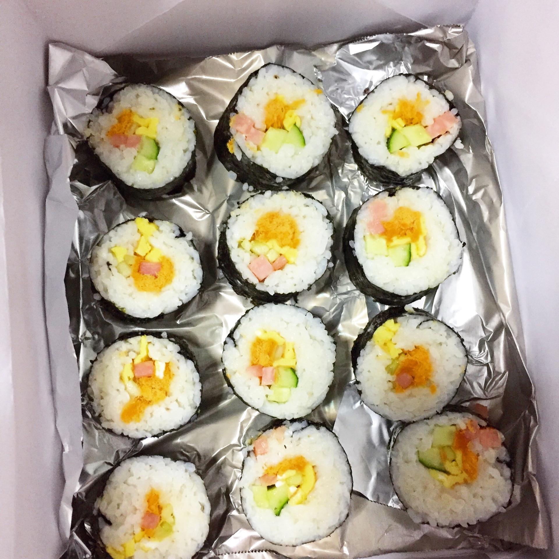 日式寿司卷的做法_【图解】日式寿司卷怎么做如何做