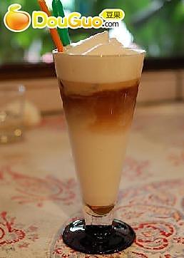 冰巧克力奶沫咖啡的做法