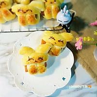 萌兔抱肠小面包