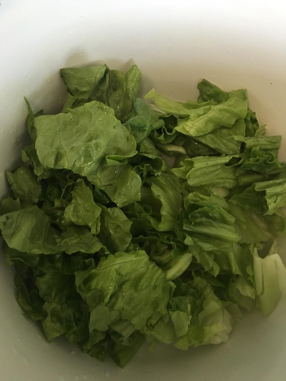 蔬菜沙拉(千岛酱版)的做法