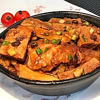 豆豉黄花鱼焖豆腐