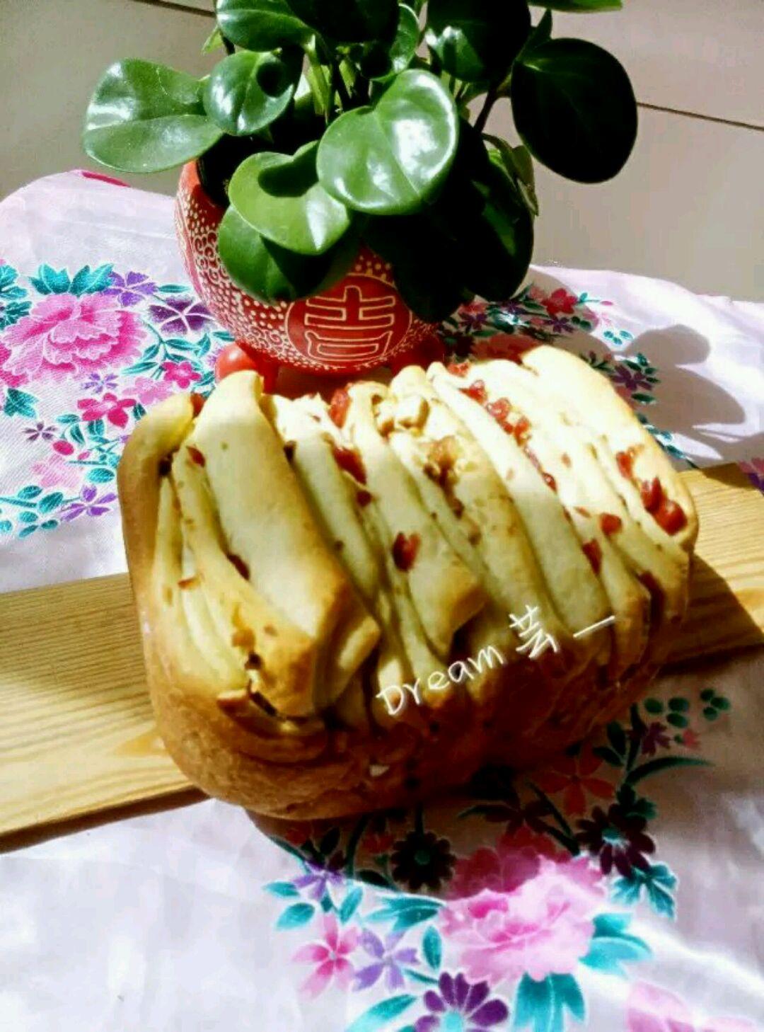 脆皮切片面包