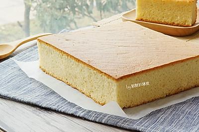 简易版长崎蛋糕
