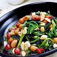 初雪 · 菠菜 · 花生米
