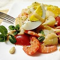 橄露Gallo经典特级初榨橄榄油试用之海鲜沙拉
