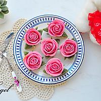 玫瑰花月饼#相约MOF#
