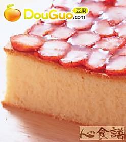 草莓蜂蜜蛋糕的做法