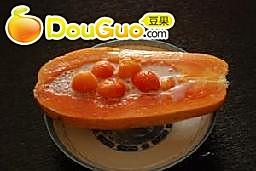 木瓜椰奶燕窝西米露 的做法