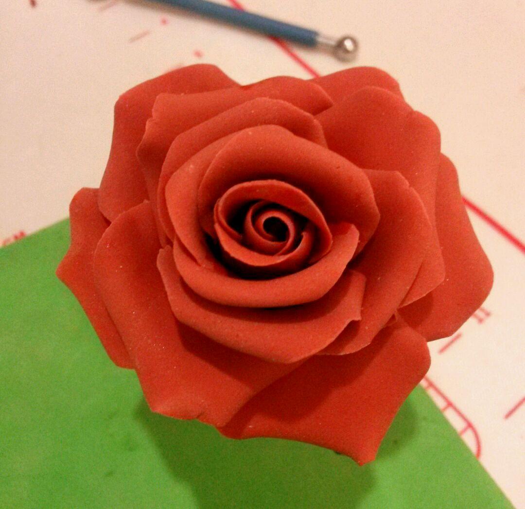 翻糖玫瑰花的做法图解18