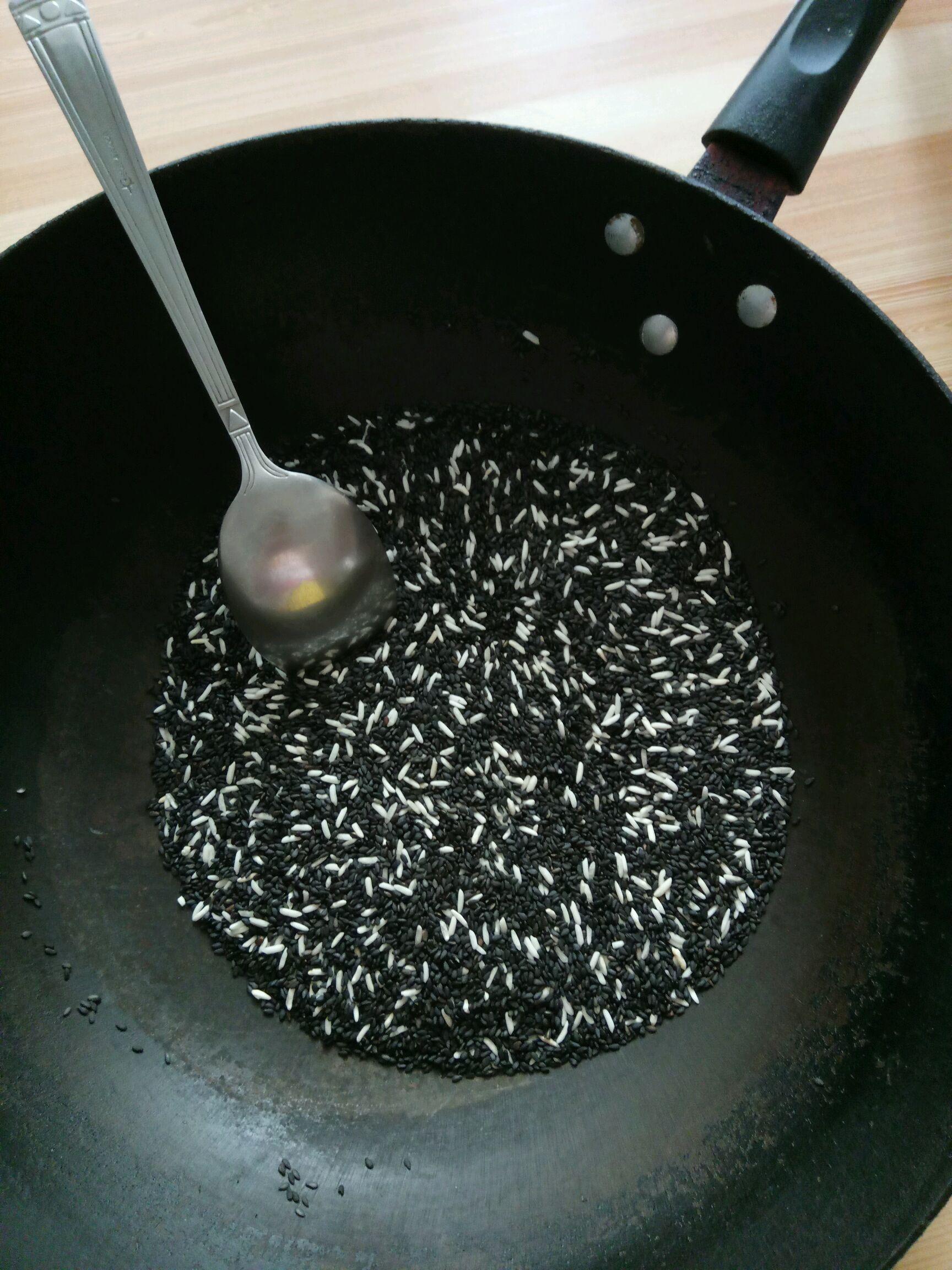 芝麻糊#料理棒勐海优势香米图片